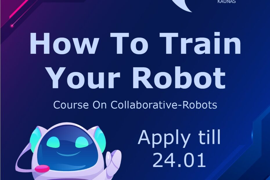 How To Train Your Robots - Image Presentation